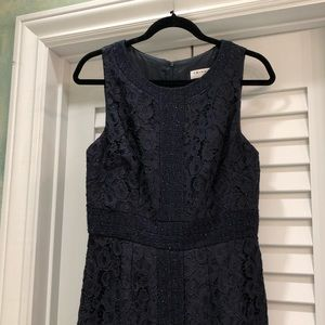 Trina Turk Sparkly Navy Dress